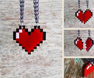 zelda pixel heart jewelry by nastalgame 9 300x250
