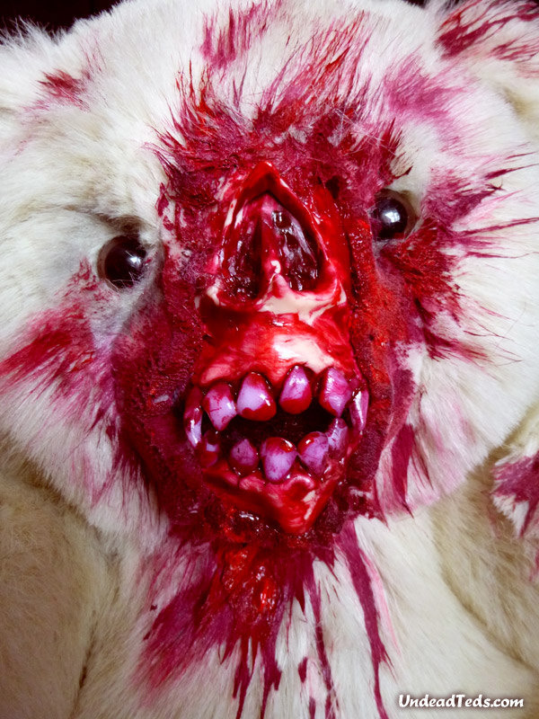 zombie teddy bear 2