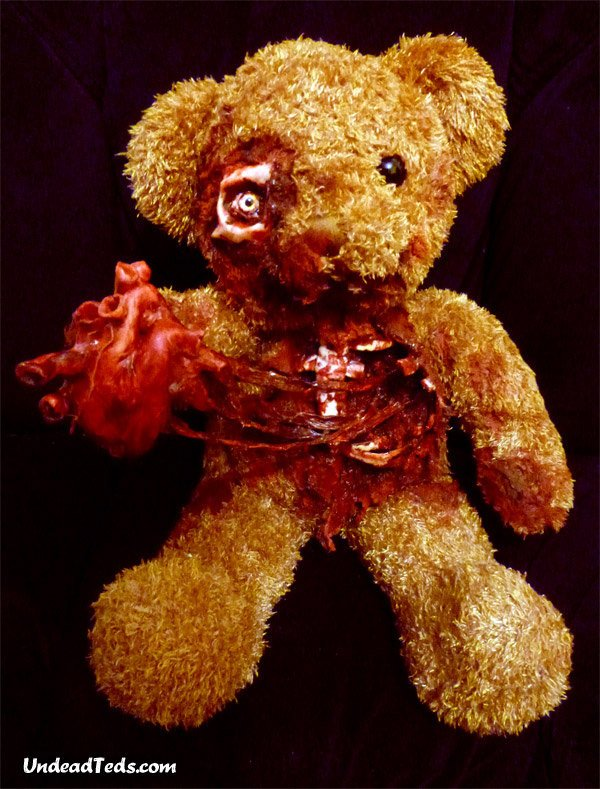 zombie teddy bear 3