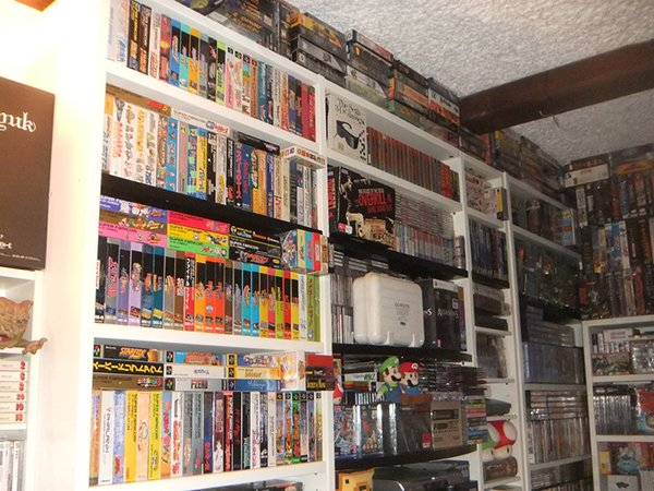 30 year video game collection by videogames.museum