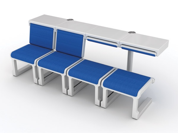 Comfort Airport Seating System that Makes Comfy Airport Seats a Reality