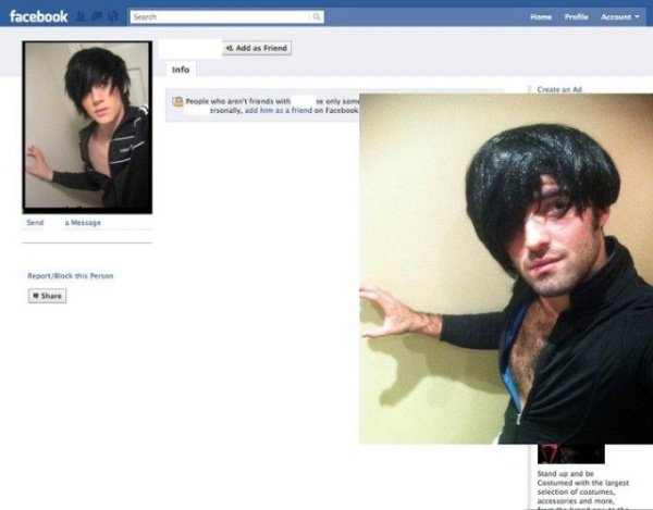 Ultimate Poser: Prankster Recreates Users' Profile Photos, Then Sends a Friend Request