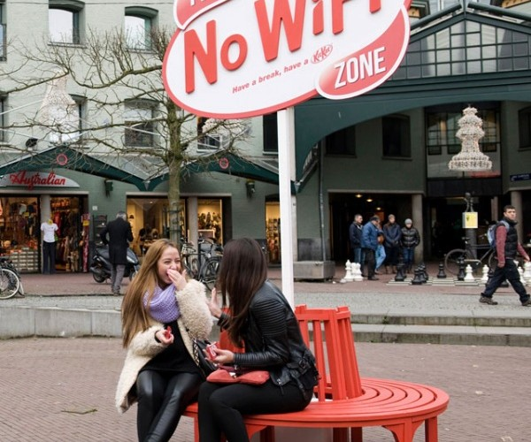 Kit Kat Invites You to Have a Break – Minus the Wi-Fi