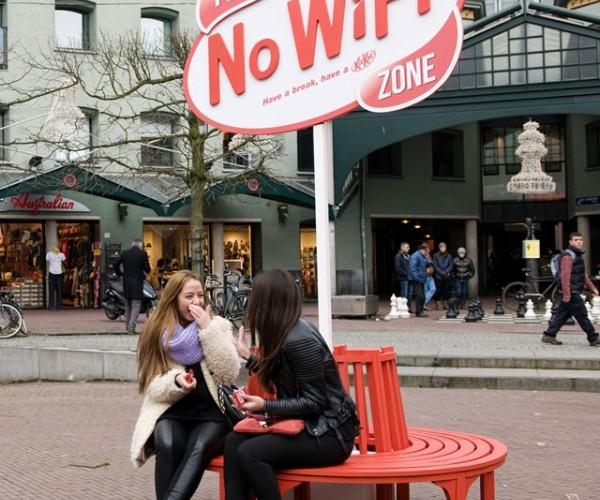 Kit Kat Invites You to Have a Break – Minus the Wi-Fi
