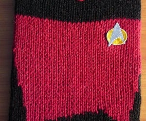 Knit Star Trek Uniform Covers Go Where No iPad Case Has Gone Before