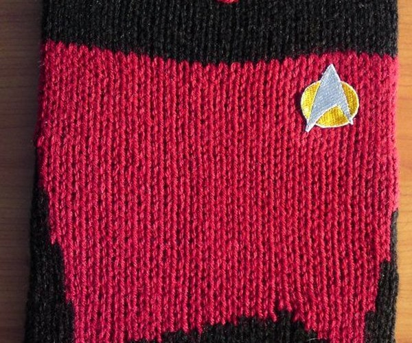 Knit Star Trek Uniform Covers Go Where No iPad Case Has Gone Before