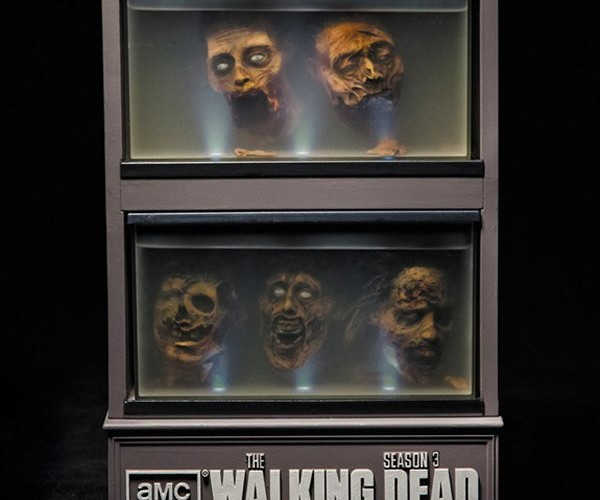 The Walking Dead Season Three Blu-ray Box is a Real Head Case