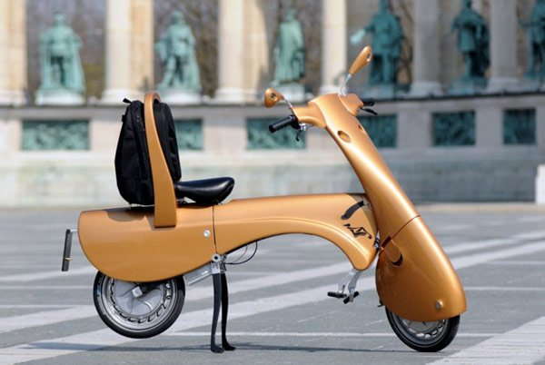antro moveo foldable scooter alone
