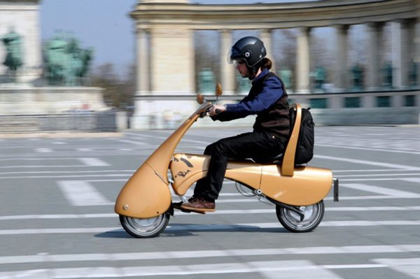 antro moveo foldable scooter photo