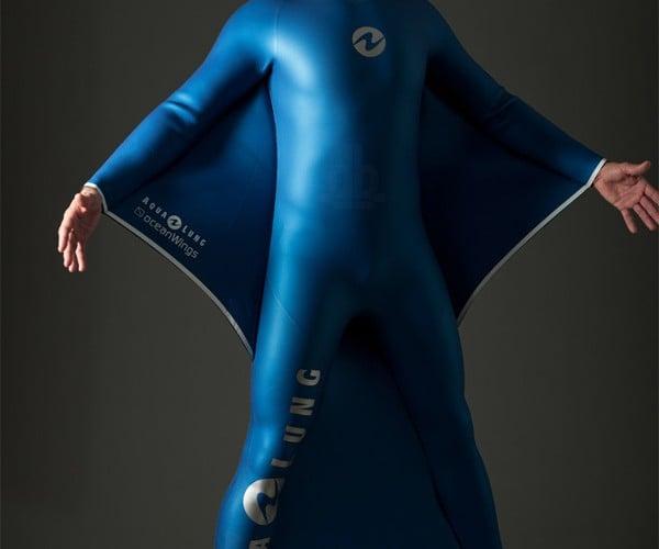 AquaLung Dreamlab Oceanwings: For Flying Underwater
