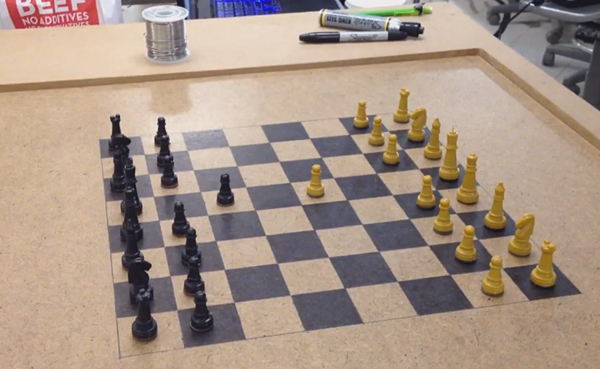 arduino powered wireless chess by fungowrightnow12