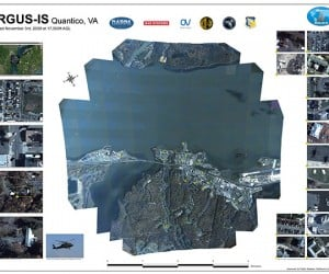 DARPA ARGUS-IS 1.8 Gigapixel Camera: Enough Resolution for Ya?