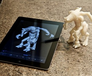 Autodesk 123D Creature 3D Character Design App: from Your iPad to Your Pad