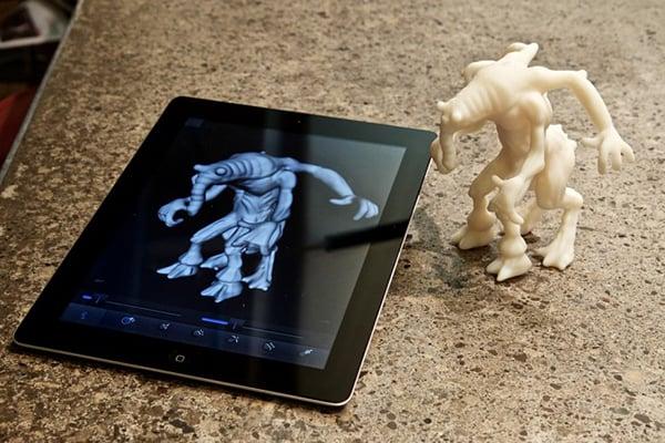 autodesk-123d-creature-ipad-app