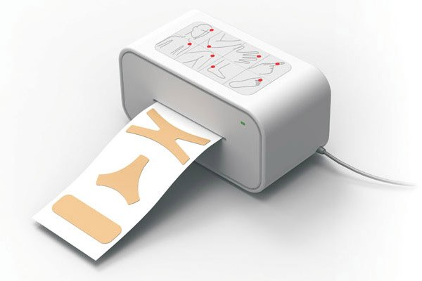 Band-Aid Printer Could Make Custom Bandages for Just the Right Fit
