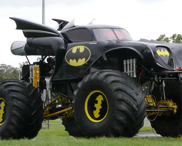 batmobile monster truck 2