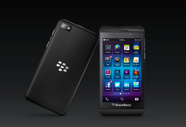 blackberry z1 smartphone