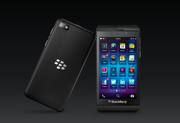 blackberry z1 smartphone photo