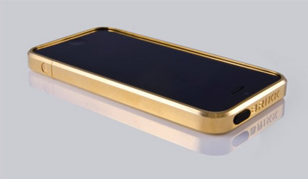 brikk gold iphone case