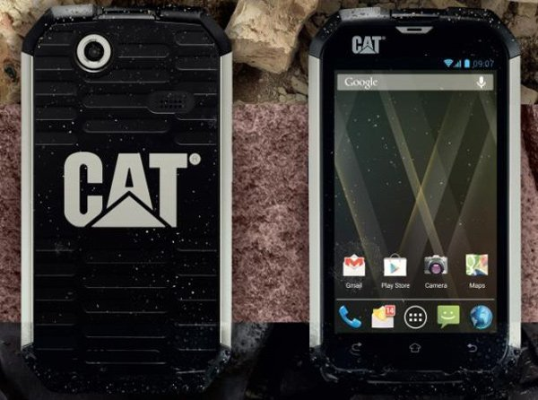 caterpillar cat b15 android phone sand photo
