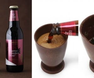 The Best Way to Drink Chocolate Beer is From a Chocolate Glass