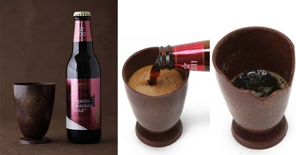 chocolate beer glass