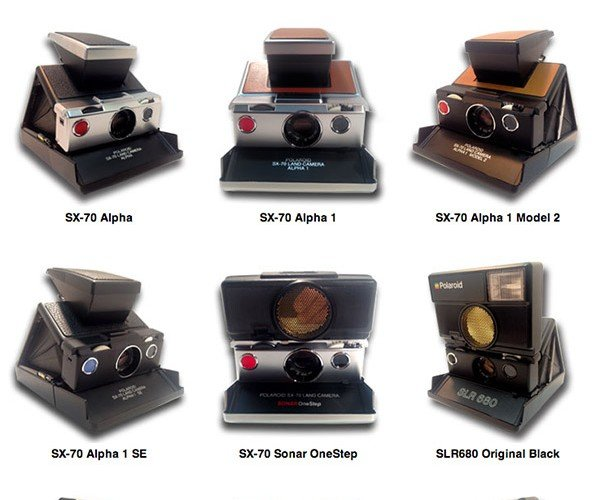 PolaPros Offer Vintage Polaroid Instant Cameras from the 70s and 80s