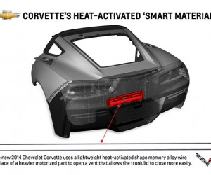 "2014 Corvette Uses Shape Memory ""Smart Material"""