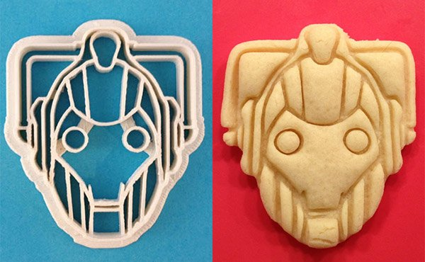cyberman cookie cutter