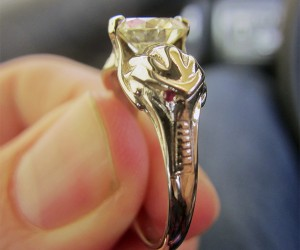 Cylon Engagement Ring: By Your Command