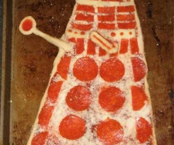 Who Ordered the Dalek Pizza with Extra Extermination?