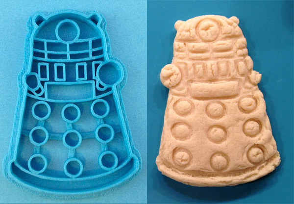 dalek cookie cutter