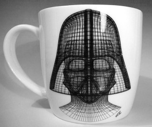 Darth Vector Coffee Mug: I Find Your Lack of Cream and Sugar Disturbing