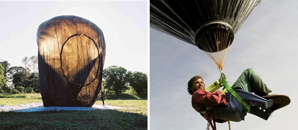 diy solar hot air balloon flying