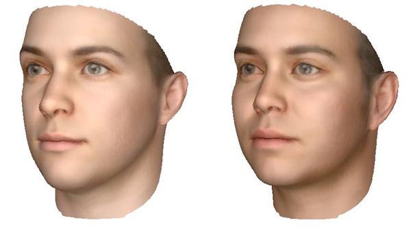 dna faces sculpture 3d print modeling photo