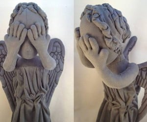 doctor who weeping angel stuffed doll by lanikins 2 300x250