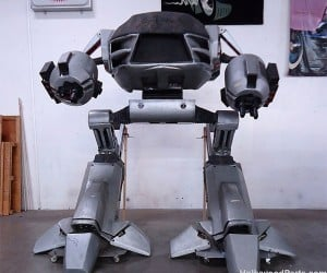Full-Size Robocop ED-209 for Sale: Only $25K