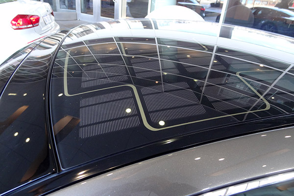 fisker solar roof