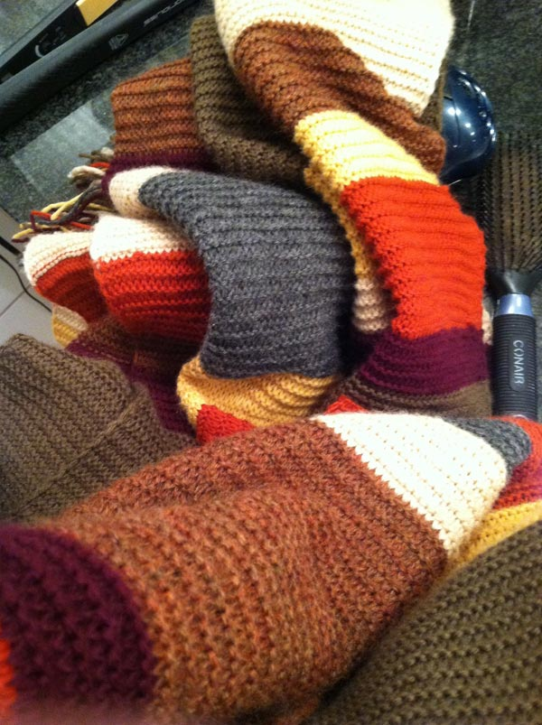 fourth doctor scarf who timelord alone photo