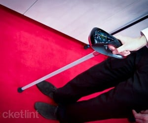 Fujitsu Walking Stick Concept Has GPS & LED Screen: It Cane Be Your Guide