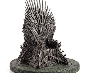 Game of Thrones 14″ Iron Throne Miniature Replica Doesn't Have a Miniature Price