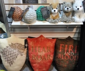 Game of Thrones Plush Direwolves, Cuteness is Coming