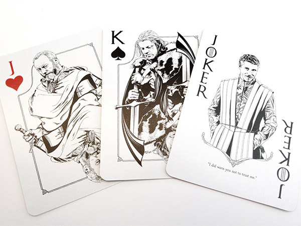 Game of Thrones Playing Cards: Poker is Coming
