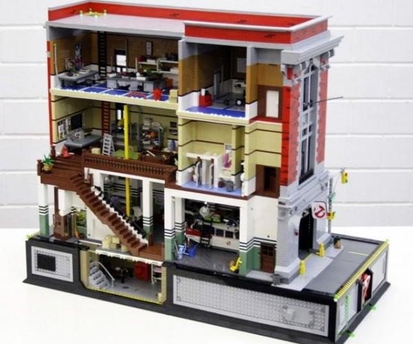 LEGO Ghostbusters Headquarters: Something Strange in Your LEGOhood