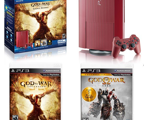 God of War Ascension PS3 Bundle Flows Red with the Blood of Sparta