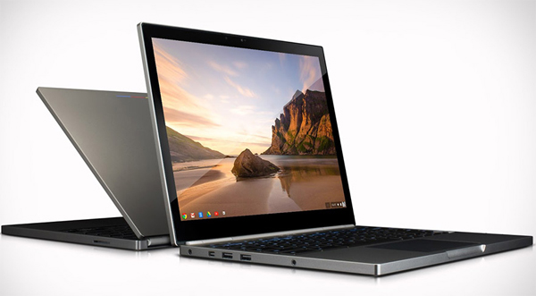 google chromebook pixel laptop side