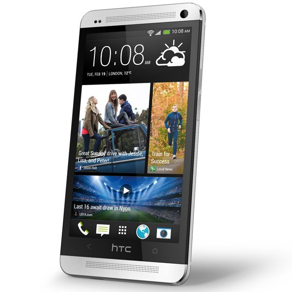 htc one smartphone android side