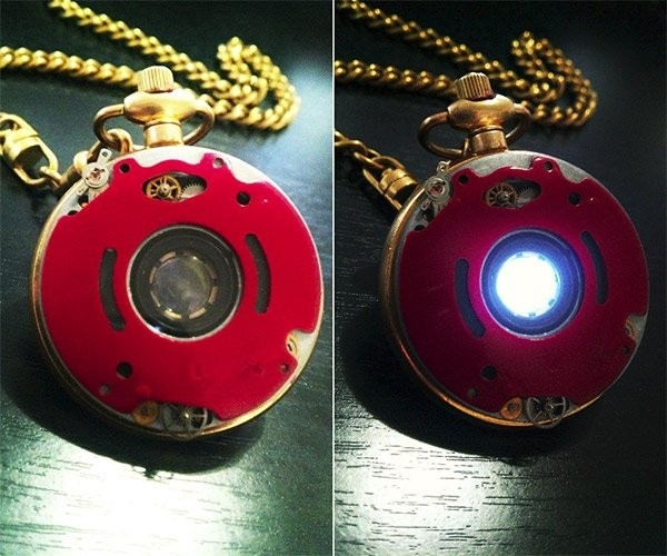 Iron Man Arc Reactor Pocket Watch: If He Only Had a Heart