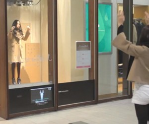 Robot Mannequin Mimics Passersby: Mirror v0.5