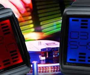 Tokyoflash Kisai OTO Watch: A VU Meter on Your Wrist